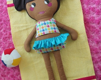 MacKenzie Sewing Pattern for a 20 Inch Doll