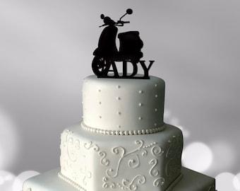 Vespa cake toppers Etsy