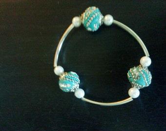 Bracelet Bead Turquoise
