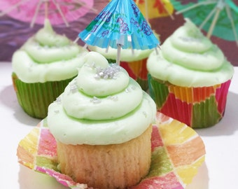 Coconut Lime Cupcakes, 1 Dozen, Local Delivery Only