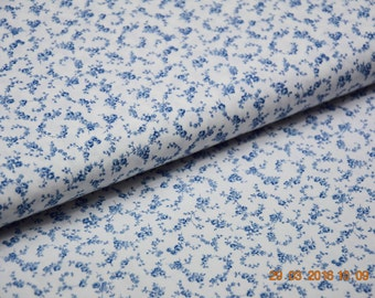 Cotton / Poplin Florencia blue floral