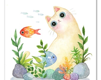 The Aquarium Cat