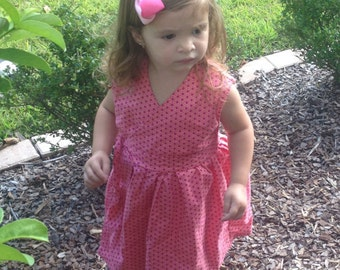 Toddler Wrap Dress