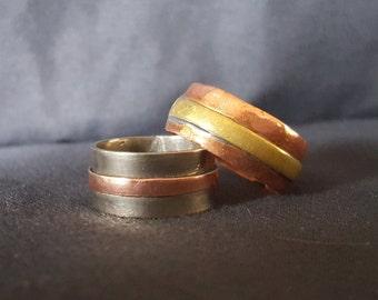 Multi-Metal Rings