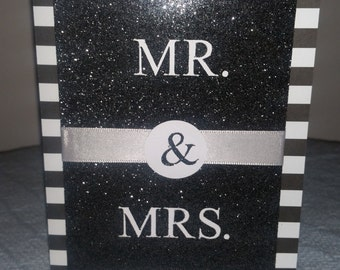 Wedding card, Mr & Mrs.