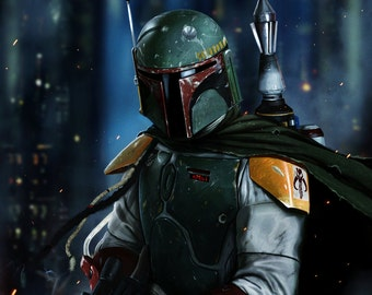 Boba Fett Shirt / Short or Long Sleeve