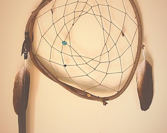 Eagle Feather Dream Catcher