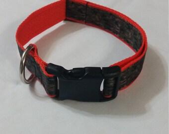 Hunting Camo dog collar (med)