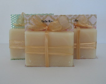 White Rose Handmade Soap