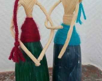 Corn husk dolls gay couple
