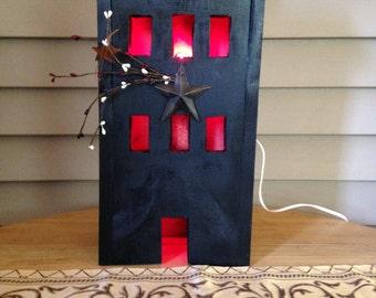 Black Light-Up House