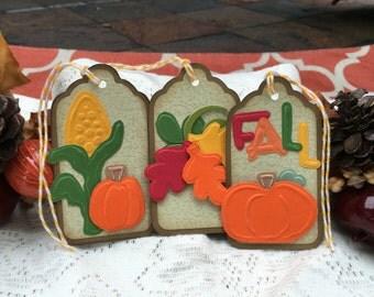 Fall Gift Tags - Autumn Tags - Favor tags - Gift tags - Hang tags