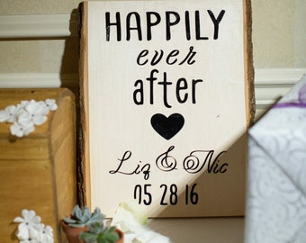Wedding Sign- Happy