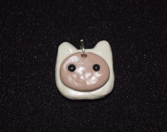 Finn the Human Clay Charm