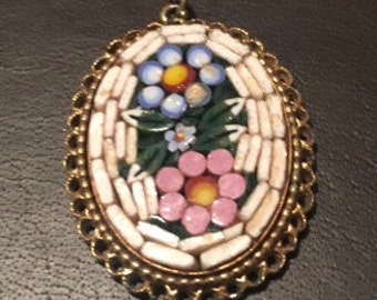 Vintage Mosaic Pendant