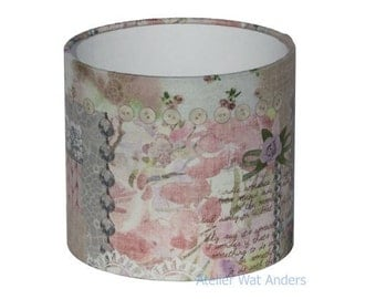 Lampshade, romantic, brocante, pastel