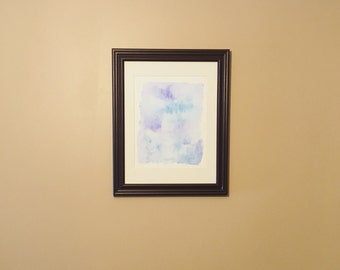 """Dark Brown Wall Frame (10"""" by 13"""" - Matted to 8"""" by 10"""")"""