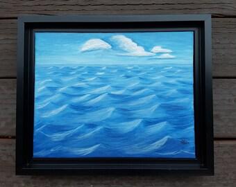 Original Acrylic Ocean Painting