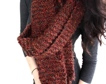EMBER* // Oversize Chunky Scarf // Huge Knit Scarf // Extra Wide // Extra Long // Hand Knit