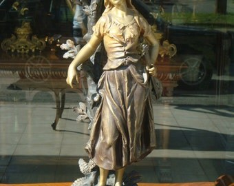 Mignon Spelter Sculpture