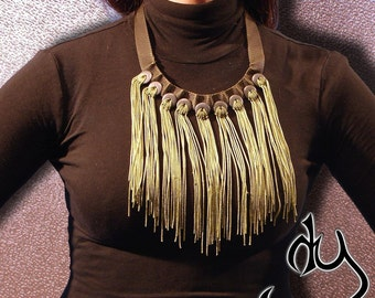 Army Style statement necklace. From our ARMY COLLECTION