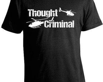 George Orwell Thought Criminal T-Shirt - 1984 - Libertarian Tees
