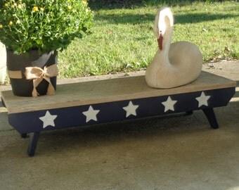 5 Star Patio Bench/Azek outdoor porch bench/patio decor/ porch/patio/bench/