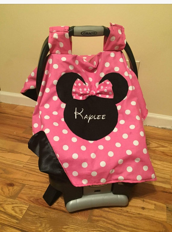 Like this item? & Personalized Minnie Mouse car seat canopy carseat canopy