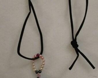 Alisha Beaded Washer Necklace