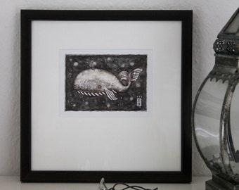 Art print 'Whale'