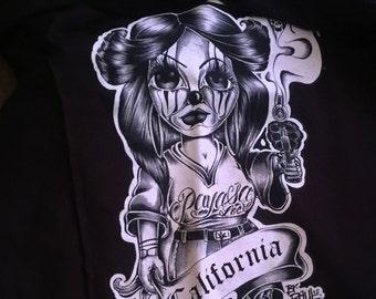 Payasita locs Large Vneck shirt