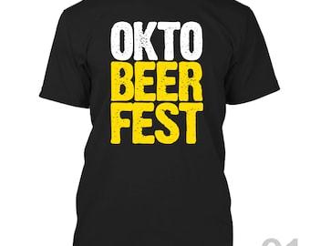 Oktoberfest Shirt Funny OKTO-BEER-FEST Tee