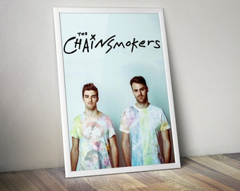 The Chainsmokers Poster 5x7 8x10 12x16 18 x 24
