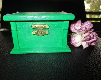 Angel Wish Box (green)