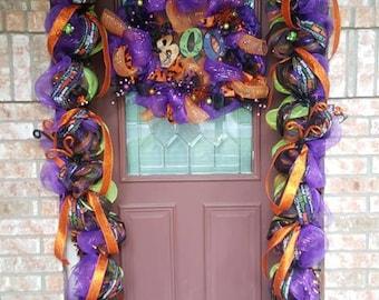 Deluxe Halloween Homemade Garland