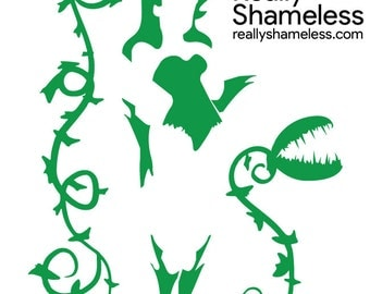 DC Comics Villain Poison Ivy Vinyl Decal