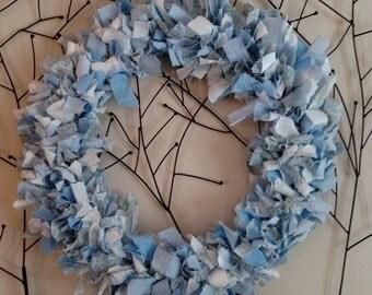Rag Wreath (Spring Colors)