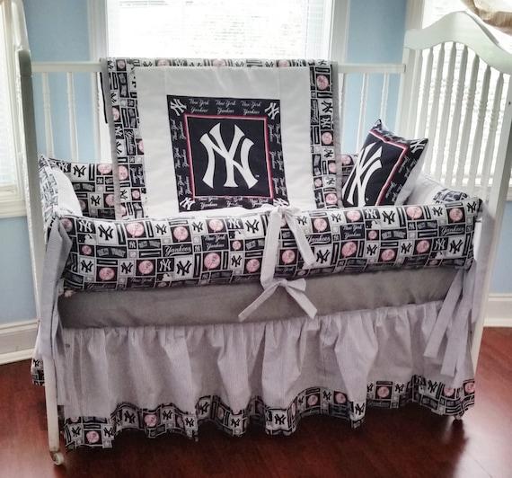 New York Yankees Crib Bedding Set