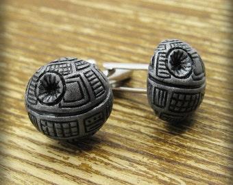 Death Star Inspired Cufflinks