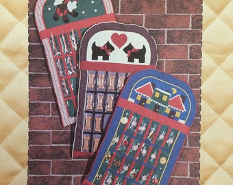 Christmas Advent Calendar Quilt Pattern by Patch Press 1984