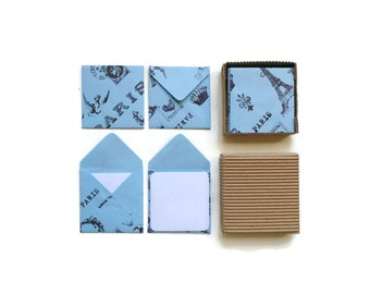Blue Paris, Stationery Set, Blank Note Cards, Thank You Cards, Greeting Cards, Gift Tags, Cute Stationery, Gifts Under 15, Paper Goods