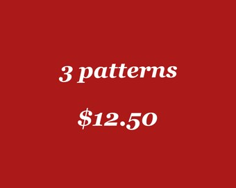 3 Dutch Knitting Design pdf patterns of your choice