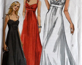 Sewing Pattern Vogue 8360 Misses' Gowns Complete Bust 40-44 inches