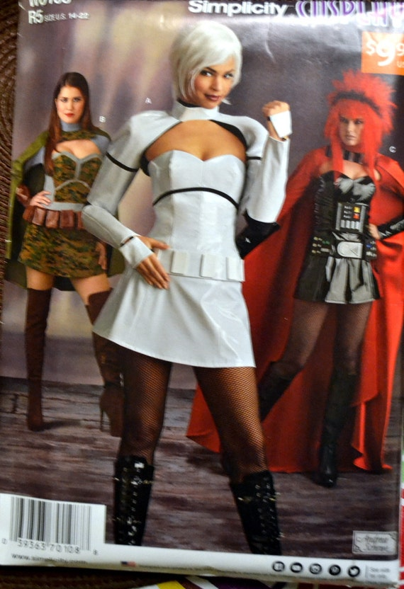 Cosplay Sewing Pattern Simplicity 8201/W0108 Misses'