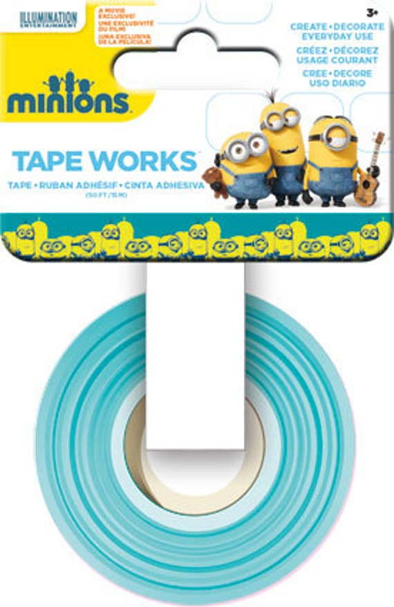 Minions tape works minions washi tape sc9666 for Tape works decorative tape