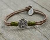 Solomon Seal Livelihood Bracelet Handmade In Israel For Men & Women