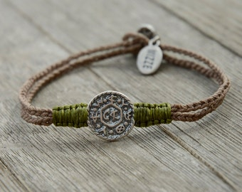 Solomon Seal Livelihood Bracelet Handmade In Israel For Men & Women