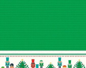 25% OFF Nutcracker Christmas Border Green