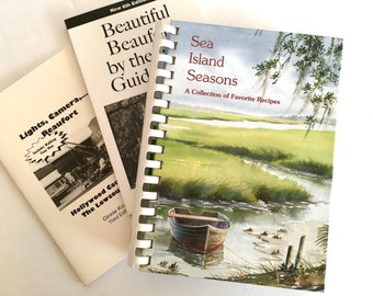 Sea Island Seasons Beaufort South Carolina Cookbook and Bonus Guide Books