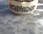 Handmade Ceramic Bowl, Salt Pot, Ice Cream Dish, Candy Dish, Change Keeper, Cereal Bowl